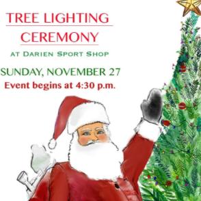 Darien Sport Shop Tree Lighting 911-22-16