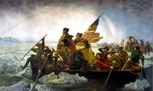 Washington Crossing the Delaware 912-12-16