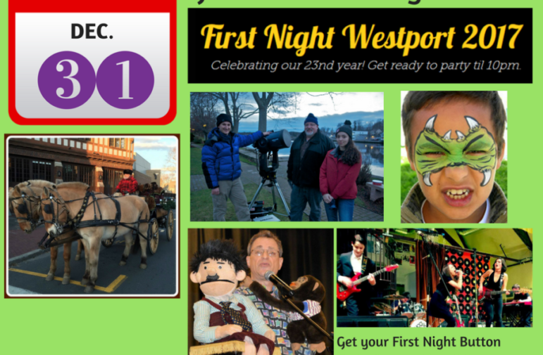 Online graphic Westport First Night 912-26-16
