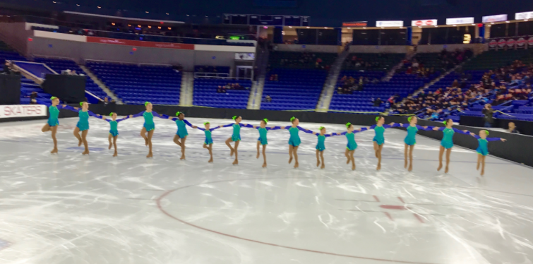 Sprites Synchronized Skating 01-10-17