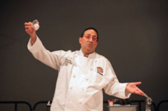 Chef Larry Rosenberg by Chuck Fishman chocexpo 01-14-16