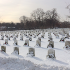 Veterans Cemetery wreaths Spring Grove 01-23-17