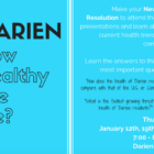 Community Fund Darien How Healthy Are We 01-26-17