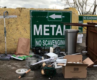 Metal Recycling Darien Recycling Center 02-04-17