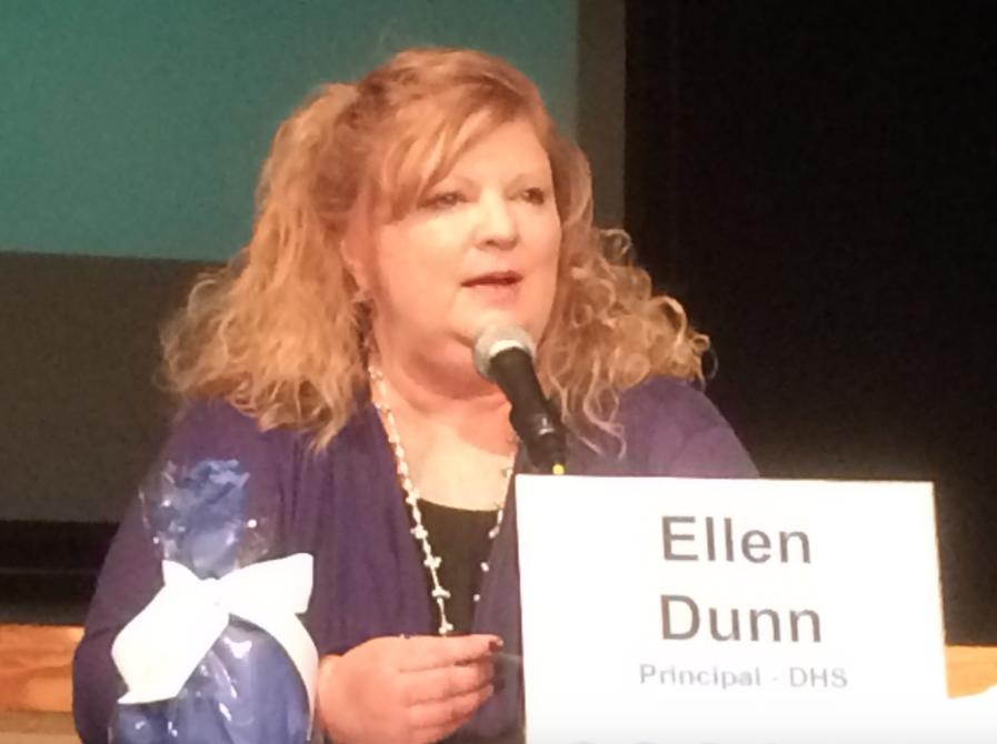 Ellen Dunn Darien High School Principal 02-08-17