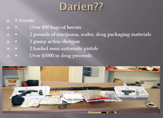 Heroin law enforcement Darien 02-07-17