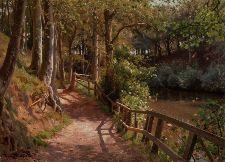 Peder Mork Monsted A Spring Day in Saeby 02-11-17