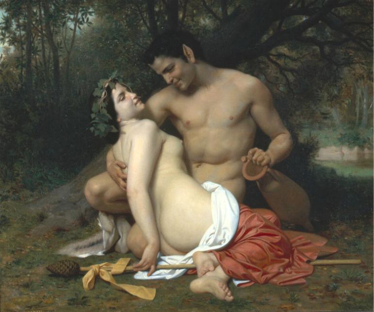 William-Adolphe Bouguereau Faun and Bacchante 02-11-17