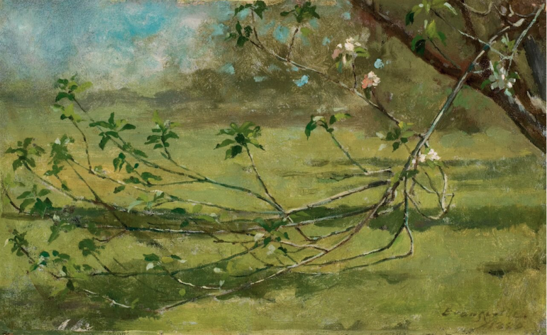 Canvas and Cast Theodore Robinson Apple Blossoms 02-11-17