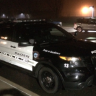 Patrol Car SUV Police Car Night 02-14-17