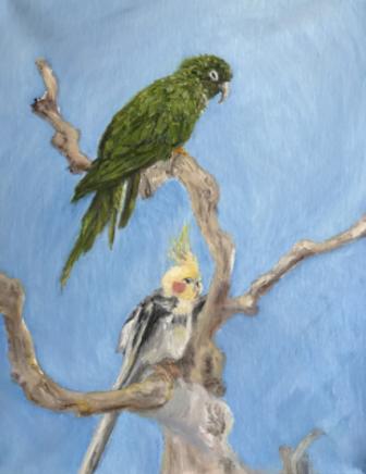 Gigi Barrett art Denali and Shenandoah 02-18-17