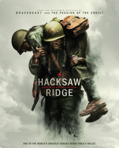 Hacksaw Ridge movie poster 02-23-17