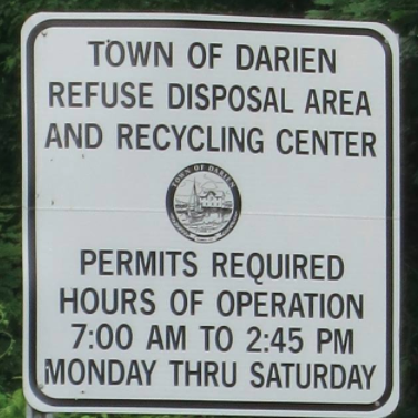 Recycling Center Sign 02-24-17
