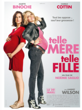 Baby Bumps telle Mere telle Fille movie poster 03-05-17