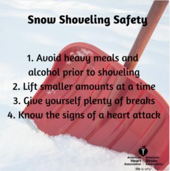 Snow Shoveling Tips Storm Winter 03-14-17 https://twitter.com/HeartCONN/status/841391673158586368