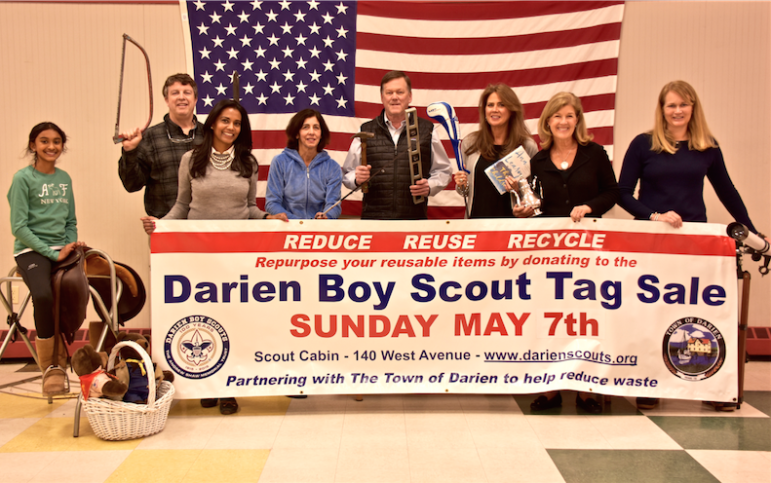 Darien Boy Scout Tag Sale 03-15-17