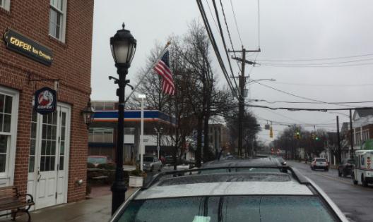 Flag Gofer Post Road 03-29-17