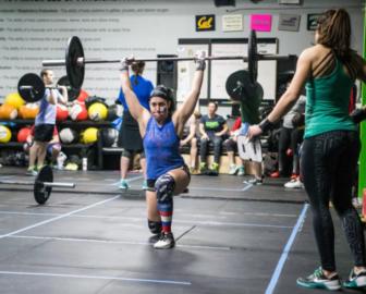 Inside Dynamic Athletics gym 03-30-17