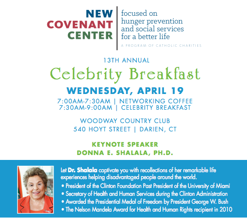 New Covenant House Celebrity Breakfast top 04-01-17