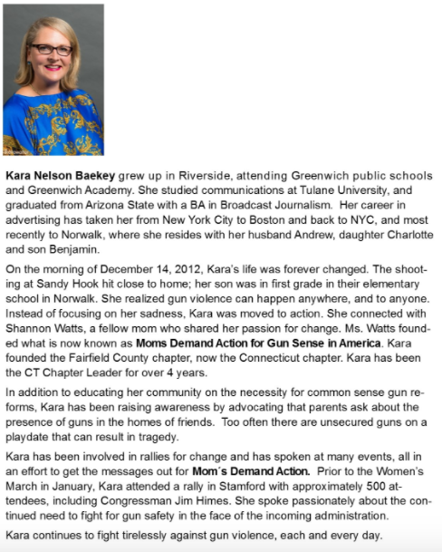 Kara Baekey Women of Distinction YW 04-06-17
