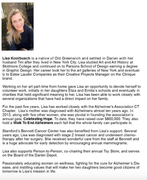 Lisa Koorbusch Women of Distinction 04-05-17