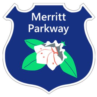 Merritt Parkway Logo user:Vrysxy on Wikimedia Commons https://commons.wikimedia.org/wiki/File:Merritt_Pkwy_Shield.svg