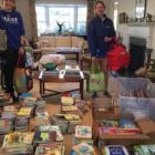 Lily Johnston Anne Johnston Book Aid Plan Royle School 04-19-17