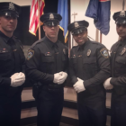 Darien Police Officers Officers Joseph Cusano, Lou Gannon, Jeffrey Brown, and Neil Nair Facebook