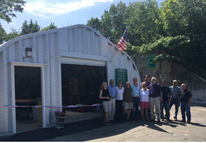 Ribbon Cutting Swap Shop