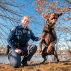 Grizzly K-9 police Officer Leslie DaSilva