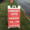 Red Sign Community Supper St. Luke's 05-04-17