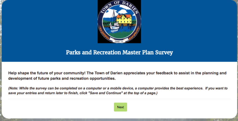 Online Parks and Recreation survey 05-07-17
