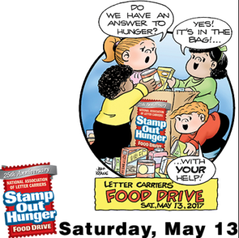 Family Circle Cartoon Stamp Out Hunger NALC 05-11-17