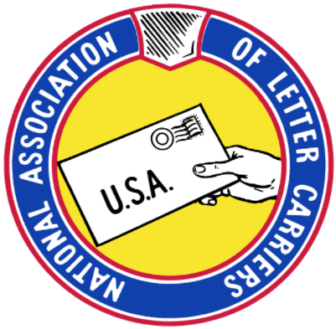 National Association of Letter Carriers Logo NALC 05-11-17