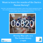 Parent Survey Community Fund of Darien 05-14-17