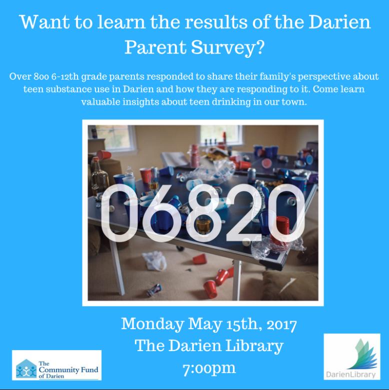 Parent Survey Community Fund of Darien 05-14-17