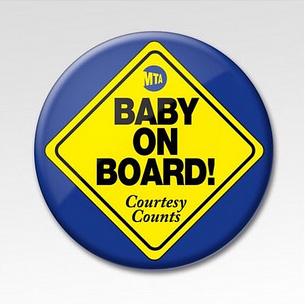 Baby on Board Courtesy Counts MTA 05-14-17