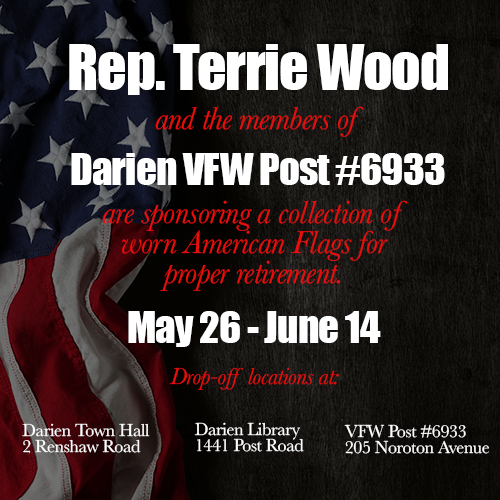 Terrie Wood announcement Flag replacement 05-16-17