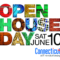 Open House Day June 10 2017