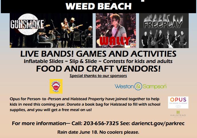 Bottom Weed Beach Fest Poster 05-18-17