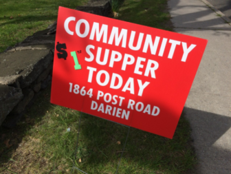 Community Supper sign 05-18-17