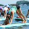Paddleboard yoga Darien YMCA 05-18-17