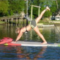 Paddleboard Yoga Parks & Recreation WeedBeach 05-18-17