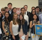 Darien chapter Mu Alpha Theta Mathematics National Honor Society 2017