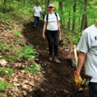 CPFA on Facebok hiking trail maintenance 05-28-17