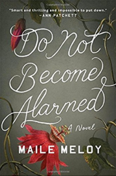 Do Not Become Alarmed book cover 2017