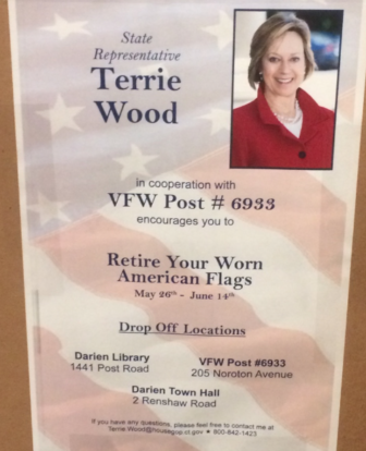 Terrie Wood poster old flags library 06-01-17