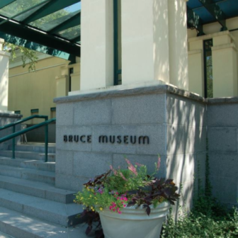 Bruce Museum front steps 06-02-17 Facebook post