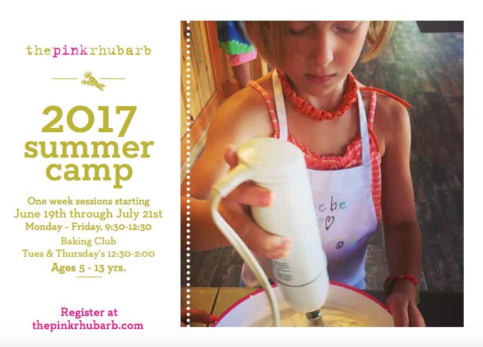 Summer 2017 classes Pink Rhubarb 06-15-17