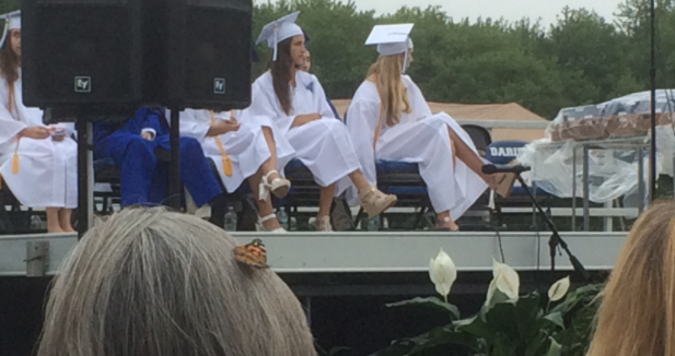 Graduation butterfly heels DHS 06-16-17